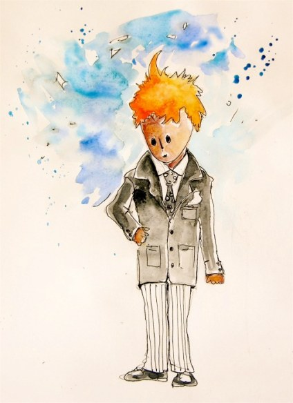 The Little Prince in a Suit